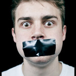 mouth taped