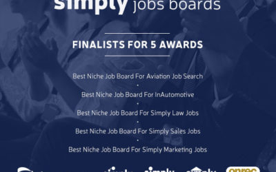 Simply Sales Jobs shortlisted for 2019 Onrec Award