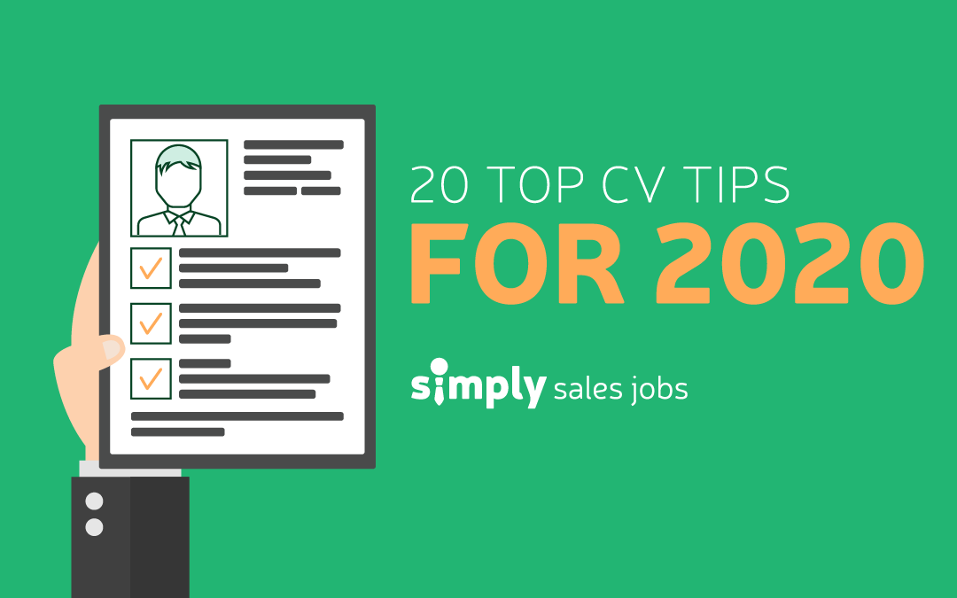20 top CV tips for 2020